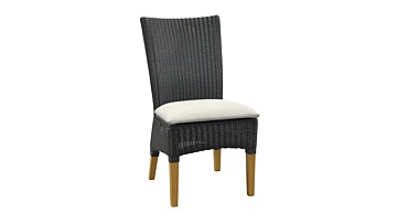 Badminton Slate Weave Side Chair