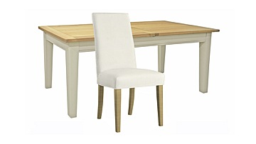 Burghley Extending Dining Table & Ely Chairs