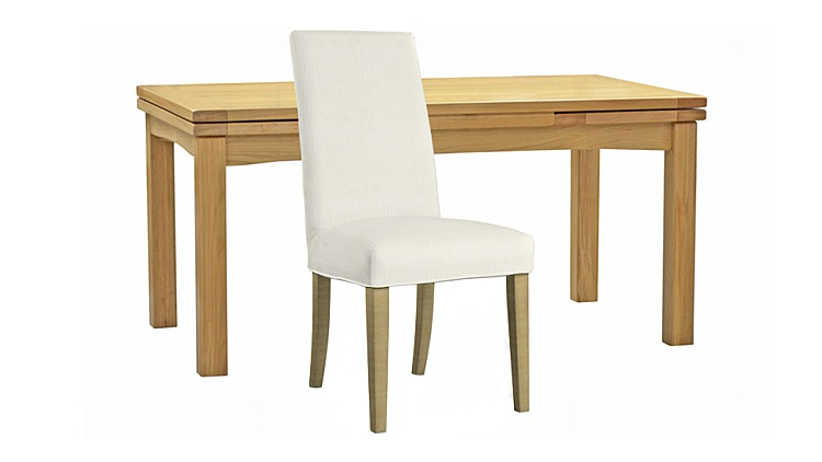 Copenhagen Extending Dining Table & Ely Chairs