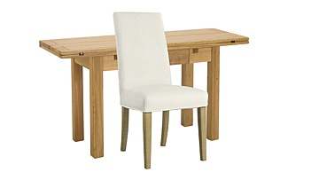 Copenhagen Extending Kitchen Table & Ely Chairs