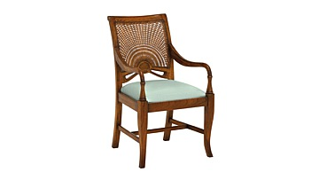 Santiago Lattice Carver Chair