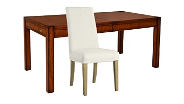 Trafalgar Extending Dining Table & Ely Chairs