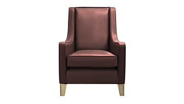 Alpine High Back Leather Chair