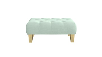 Global Buttoned Footstool