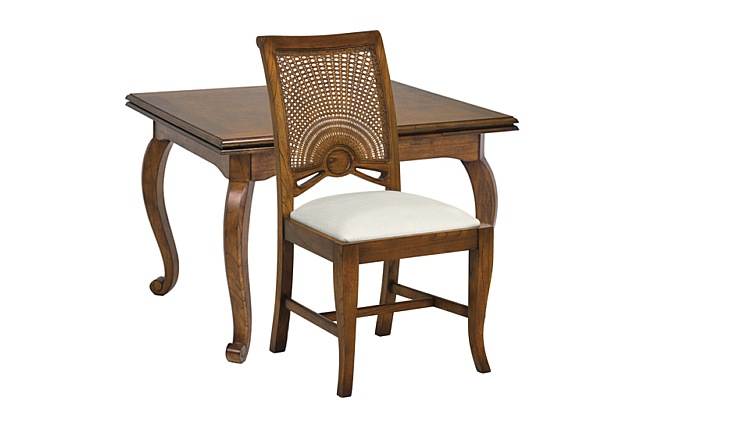 Santiago Small Extending Dining Table & Side Chairs