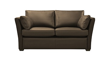 Diplomat Leather Sofa Bed