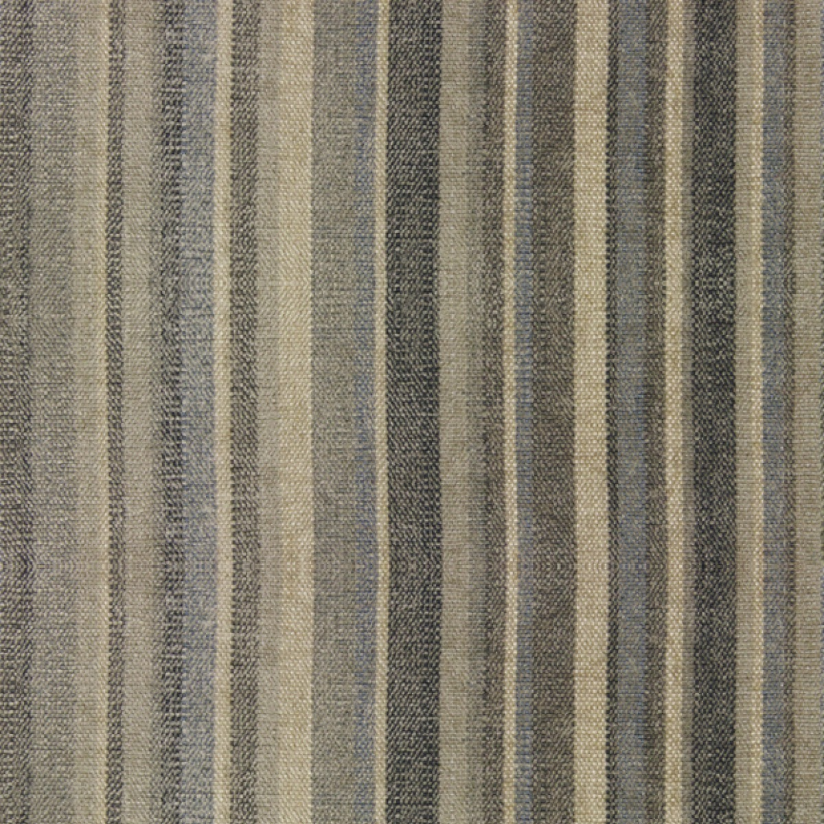 Plush Stripe – Silver Blue